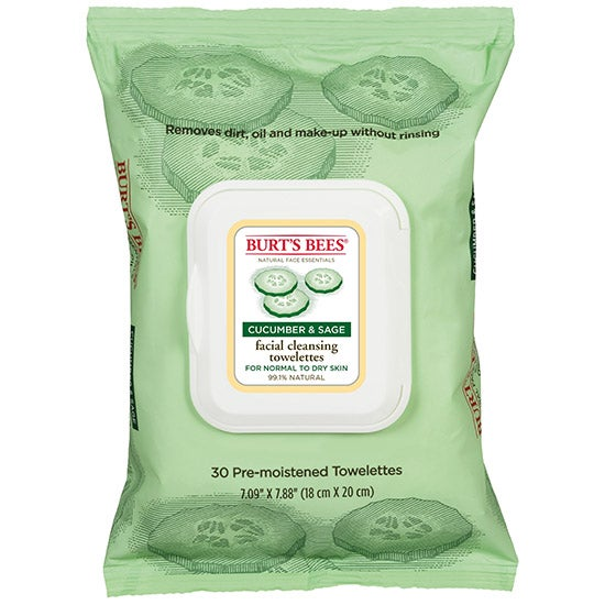 Facial Cleansing Towelettes – Cucumber & Sage