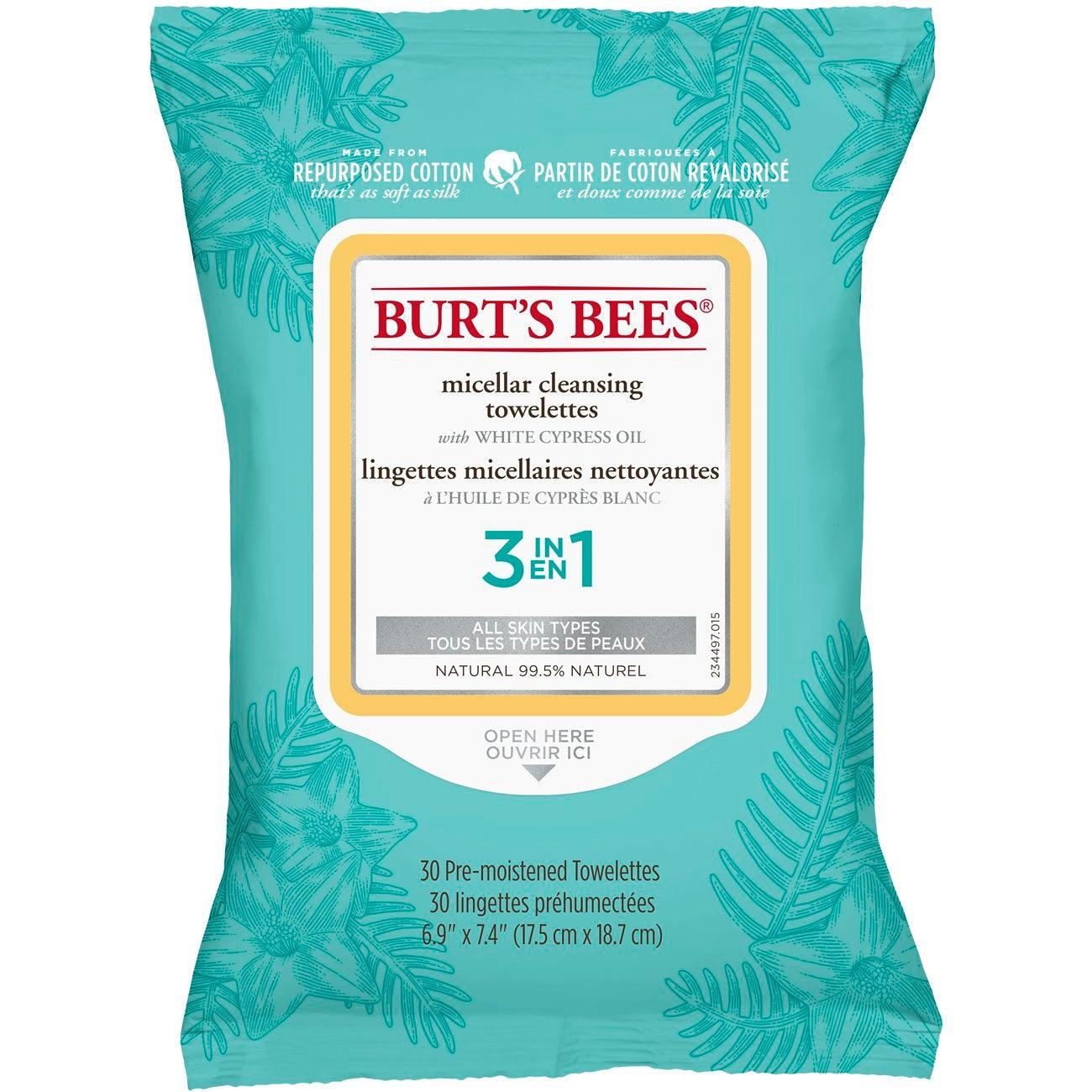 Toallitas Desmaquillantes - Burt's Bees® Micellar Cleansing Towelettes