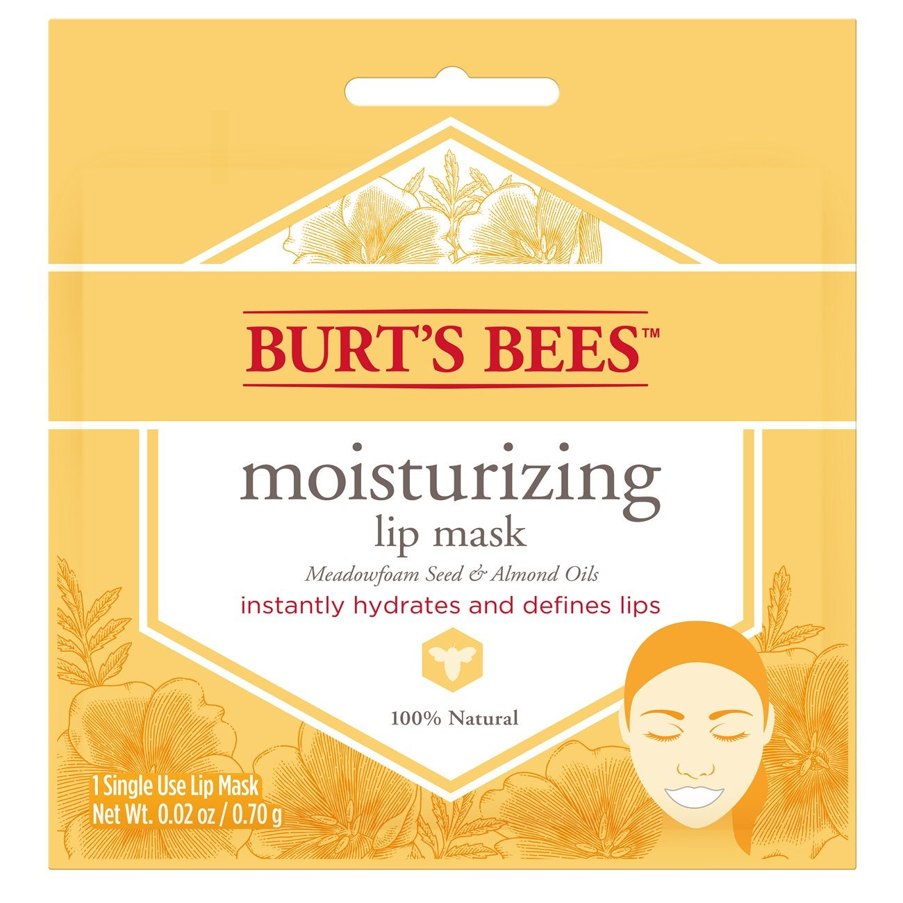 Máscara Facial - Burt's Bees® Moisturizing Lip Mask